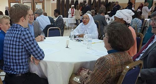 Muslim Lunch Table