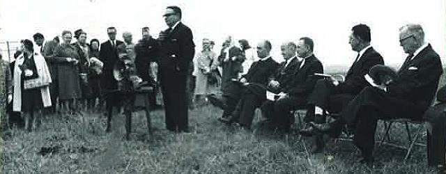 Ground Breaking of NorthPark Presbyterian in 1962